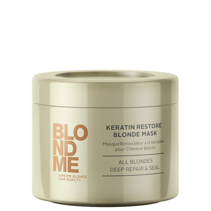 Schwarzkopf Professional Blondme Keratin Restore Blonde Mask All Blondes - Máscara de Tratamento 200ml