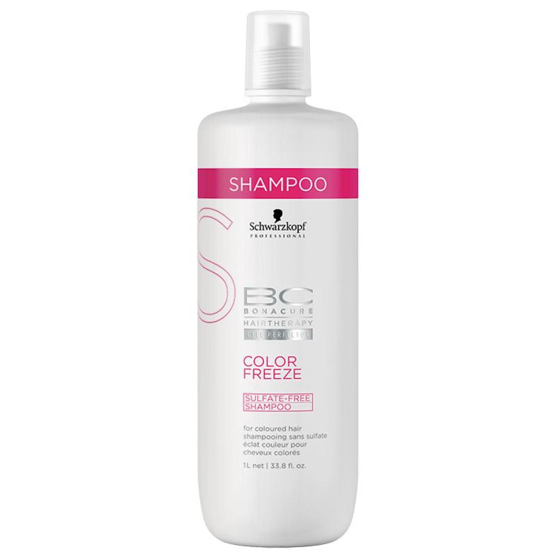 Schwarzkopf Professional BC Bonacure Color Freeze Sulfate-Free - Shampoo 1000ml