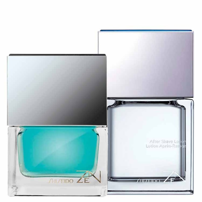 Conjunto Zen Shiseido Masculino - Eau de Toilette 100ml + After Shave 100ml