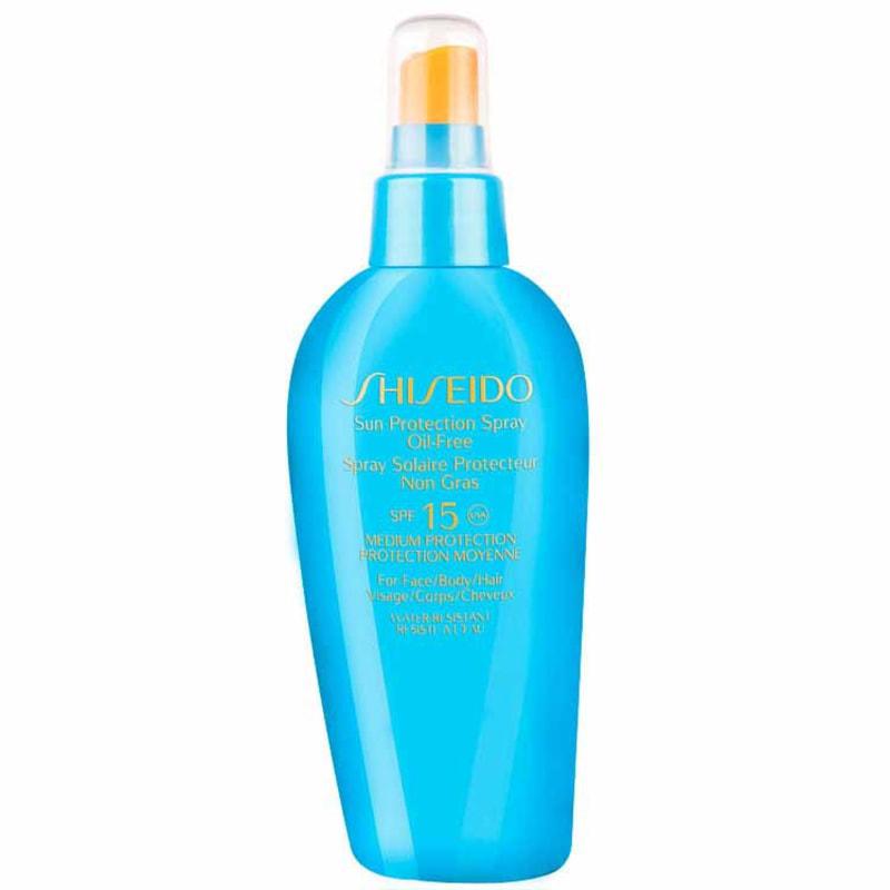 Shiseido Sun Care Sun Protection Spray Oil Free FPS 15 - Protetor Solar em Spray
