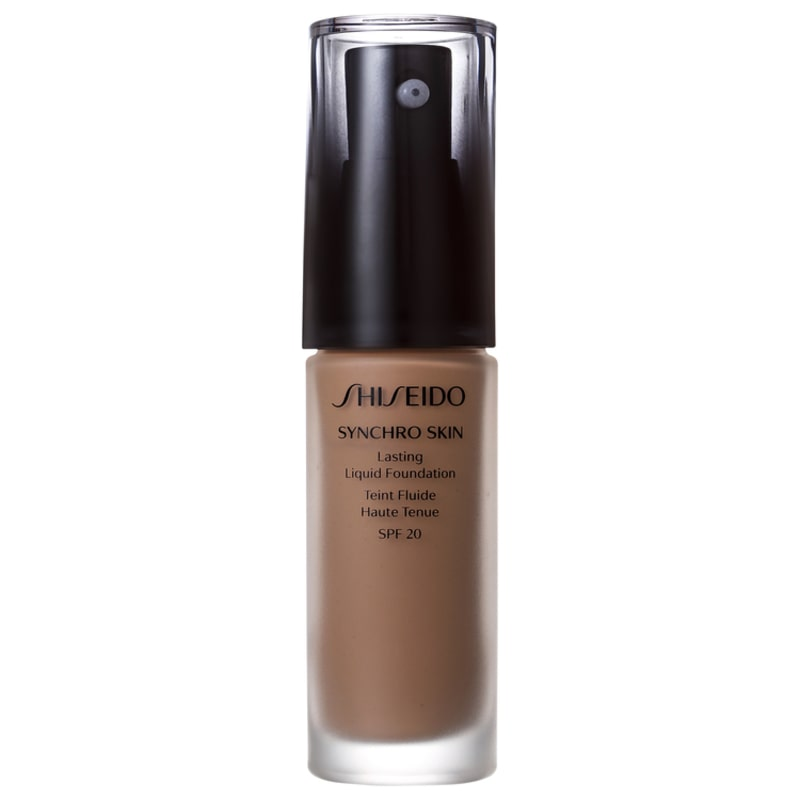 Shiseido Synchro Skin Lasting Liquid Foundation FPS 20 N4 Neutral 4 - Base Líquida 30ml