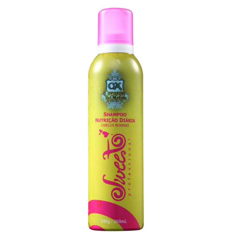 Sweet Hair Corazón de Melón Nutrição Diária - Shampoo 260ml