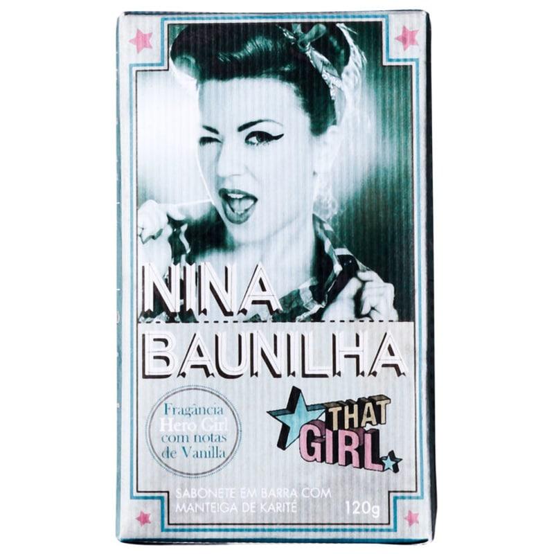 That Girl Nina Baunilha - Sabonete em Barra 120g