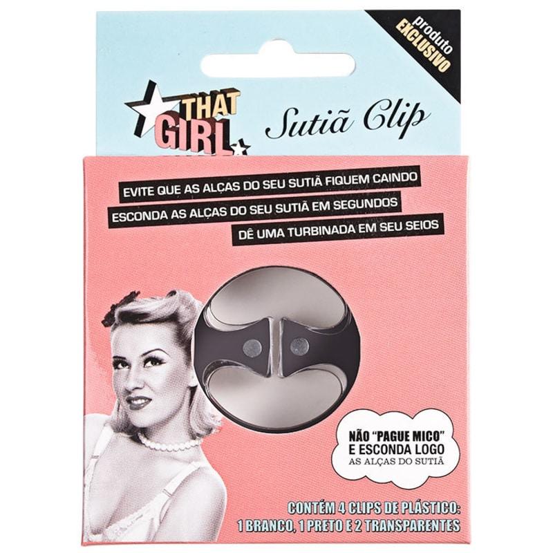 That Girl Sutiã Clip - Prendedor para Alça de Sutiã (4 unidades)