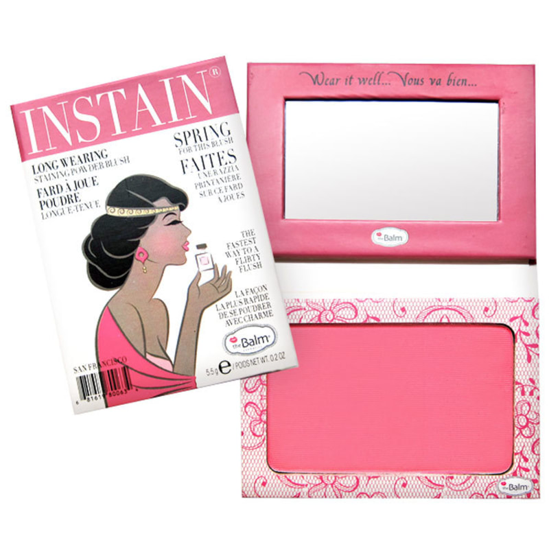 the Balm Instain Lace Bright Pink - Blush Luminoso 5,5g