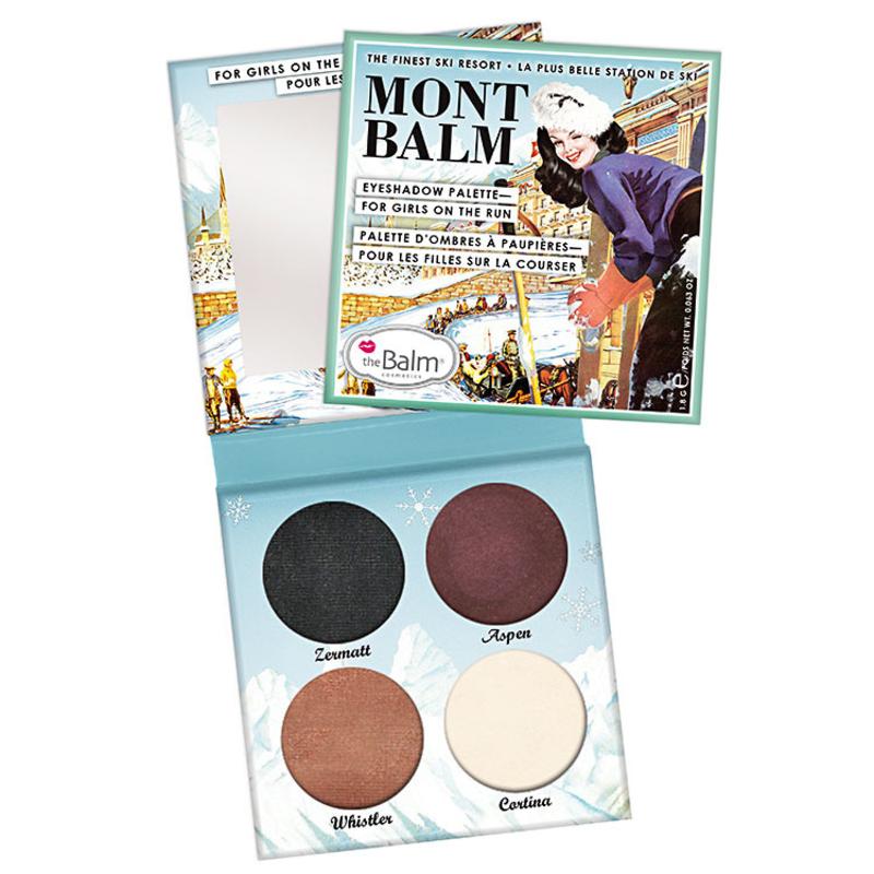 the Balm Mont Balm Eyeshadow Palette - Quarteto de Sombras 7.2g