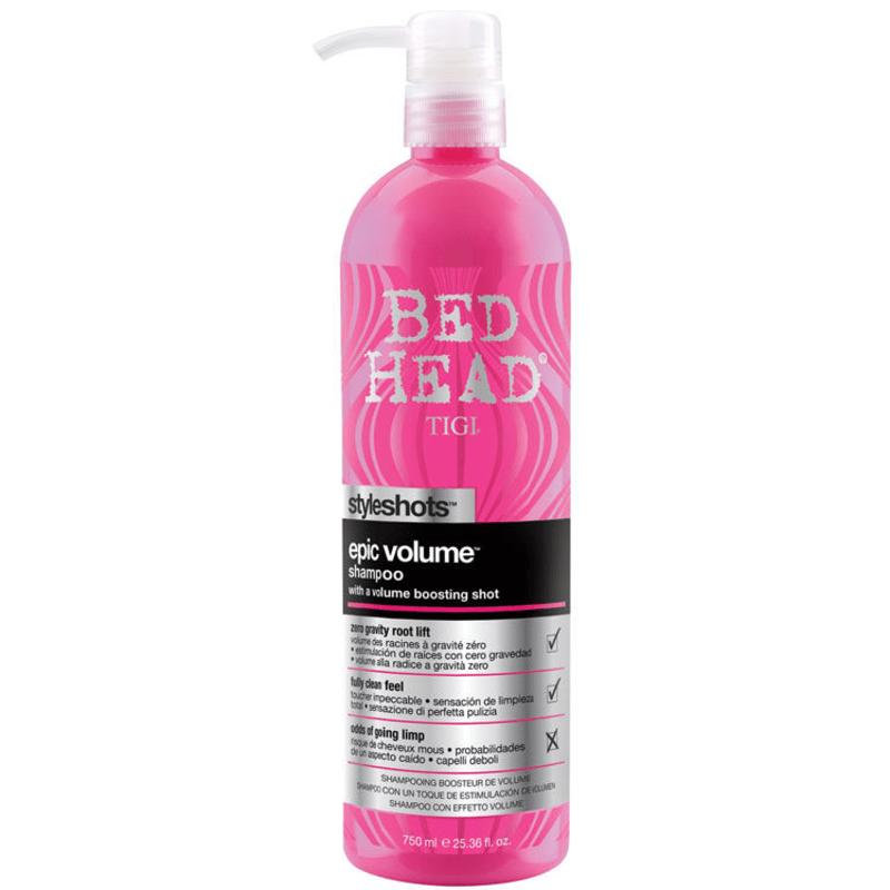 TIGI Bed Head Styleshots Epic Volume - Shampoo 750ml