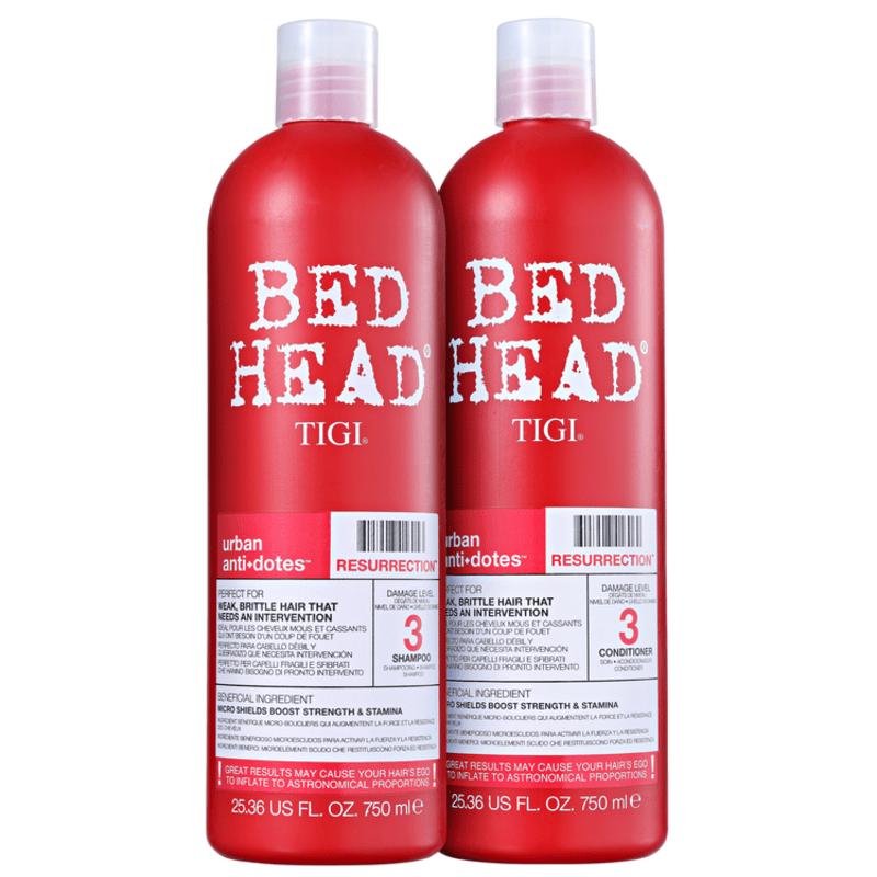 TIGI Bed Head Urban Anti+Dotes #3 Resurrection Duo Salon Kit (2 Produtos)