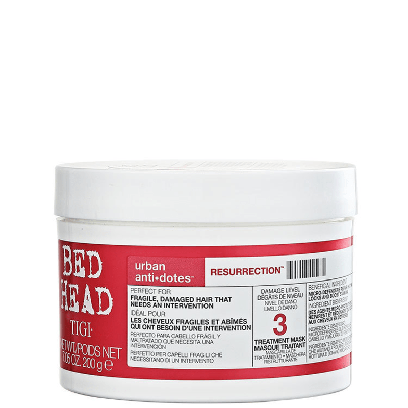TIGI Bed Head Urban Anti+Dotes #3 Resurrection Treatment Mask - Máscara de Tratamento 200g
