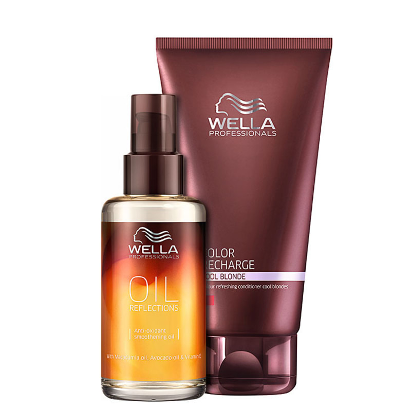 Wella Professionals Oil Reflections Platinum Kit (2 Produtos)