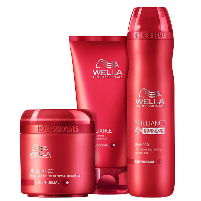 Wella Professionals Brilliance Intense Kit (3 Produtos)
