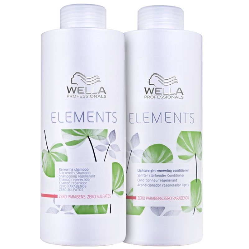 Wella Professionals Elements Renewing Salon Kit (2 Produtos)