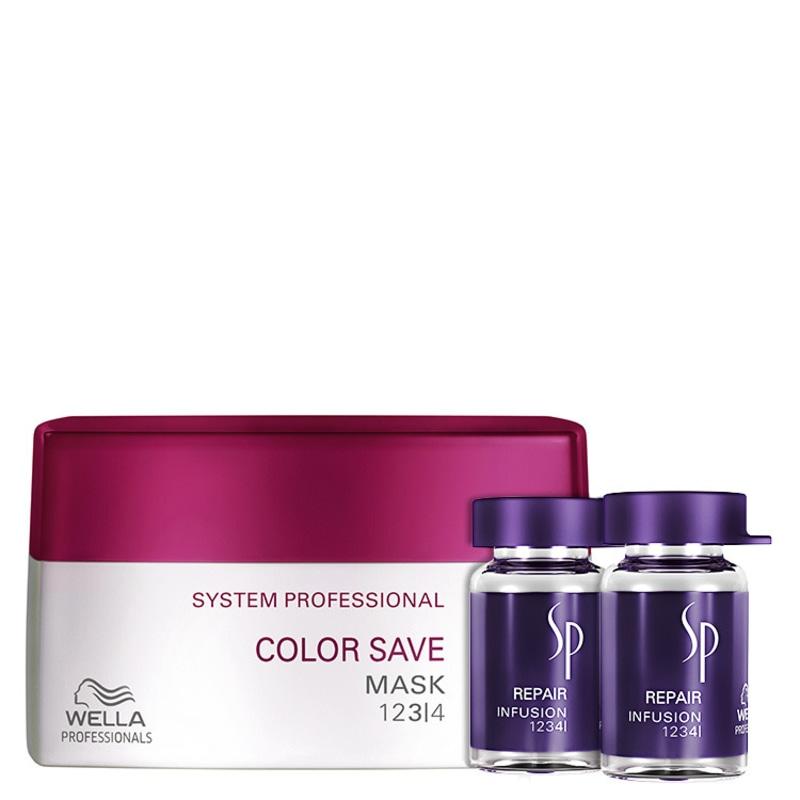 SP System Professional Color Save Repair Kit (3 Produtos)