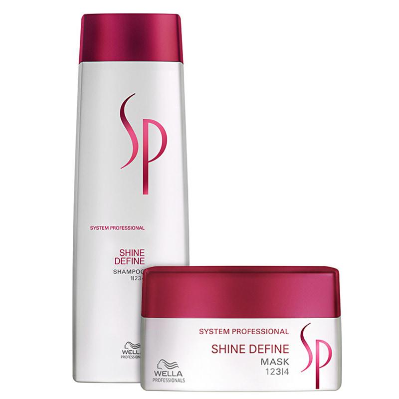 SP System Professional Shine Define Duo Kit (2 Produtos)