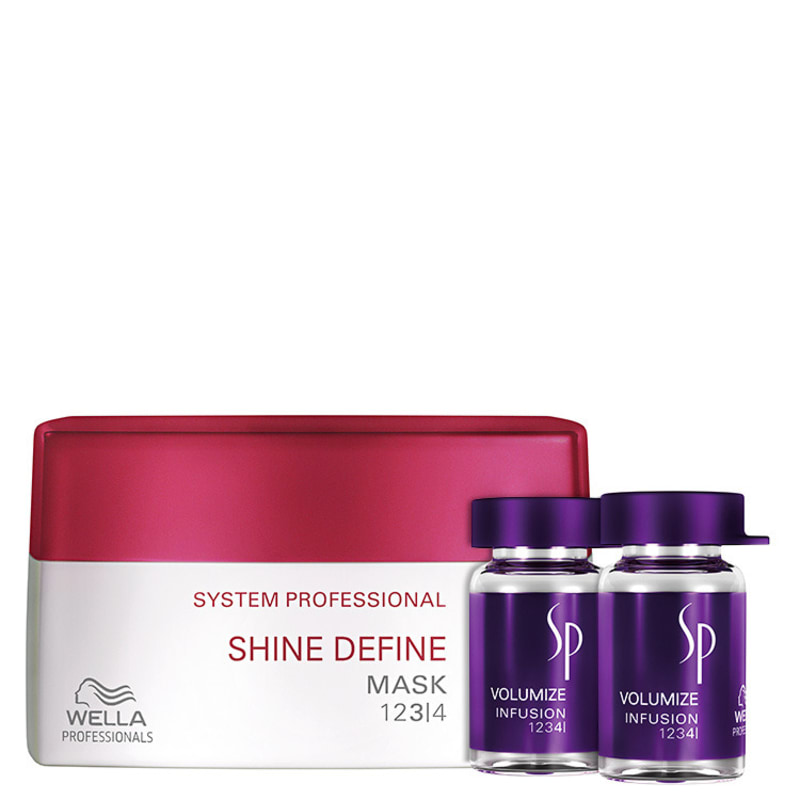 SP System Professional Shine Volumize Kit (2 Produtos)