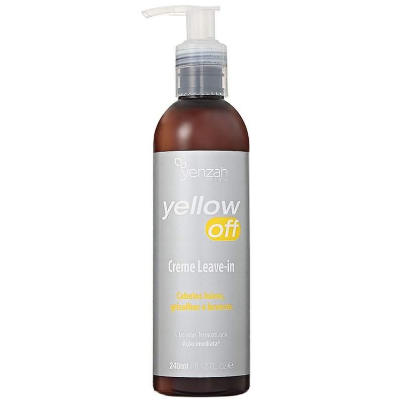 Yenzah Yellow Off Creme Leave-In - Leave-In 240ml
