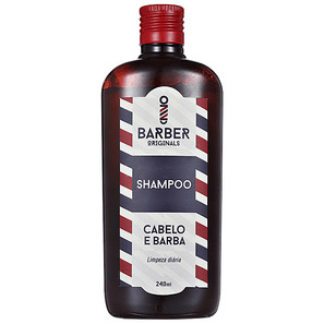 Shampoo Barber Originals Cabelo E Barba 240ml