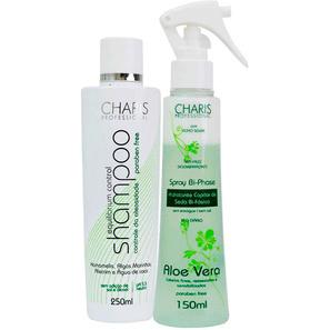 Charis Equilibrium Control Bi - phase Aloe Vera Duo Kit ( 2 Produtos ) - Charis