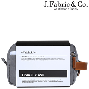 TRAVEL CASE CINZA - J. Fabric and Co.