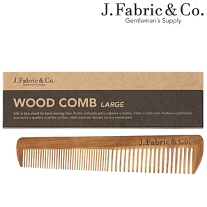 WOOD COMB LARGE - J. Fabric