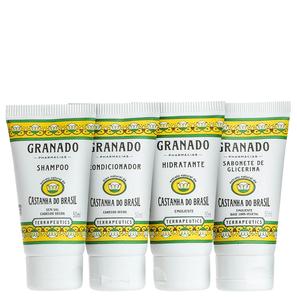 Kit Granado Terrapeutics Kit Amenities Castanha Do Brasil - Granado