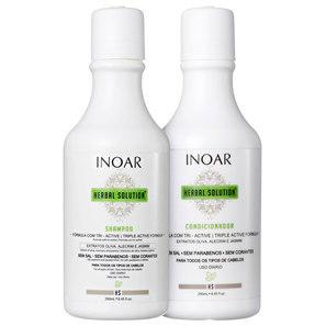 Inoar Herbal Solution Kit Shampoo E Condicionador - Inoar