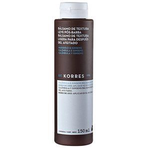 Bálsamo Pós - barba Korres Marigold & Ginseng 150ml - Korres