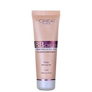 Bb Cream Loréal Paris Creme 5 Em 1 Fps 20 Claro 50ml