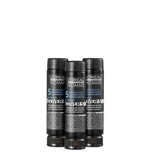 L ´ oréal Homme Cover 5 - Coloração 3x50ml Castanho Claro 5 - L ´ Oréal Professionnel