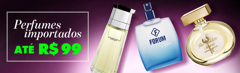 Perfumes até R$99