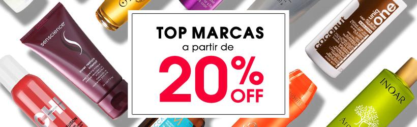 TOP MARCAS ATÉ 20%OFF