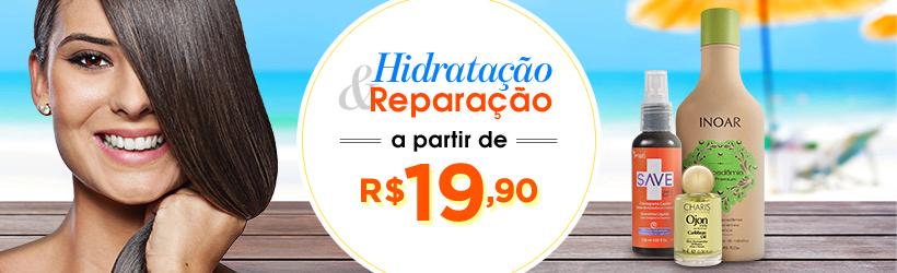 HIDRATAÇÃO E REPARAÇÃO A PARTIR DE 19,90