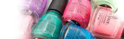 China Glaze Unhas