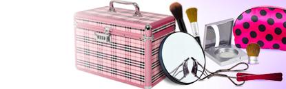 Pincéis e Acessórios de Maquiagem