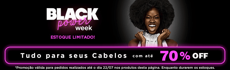 Black Friday Cabelo