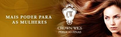 Crown Wigs Perucas de Cabelo