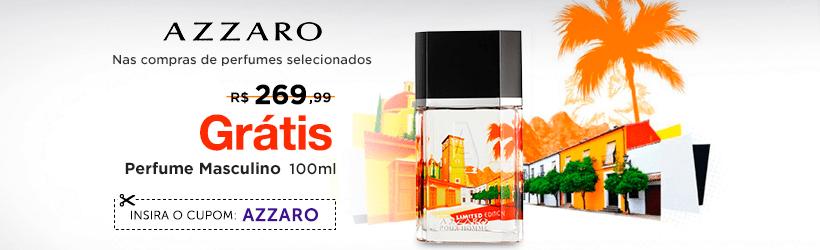 Ganhe Grátis Perfume Azzaro