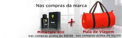 Ferrari Perfumes em Kits para Presente
