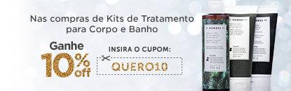 Kits de Tratamento para Corpo e Banho