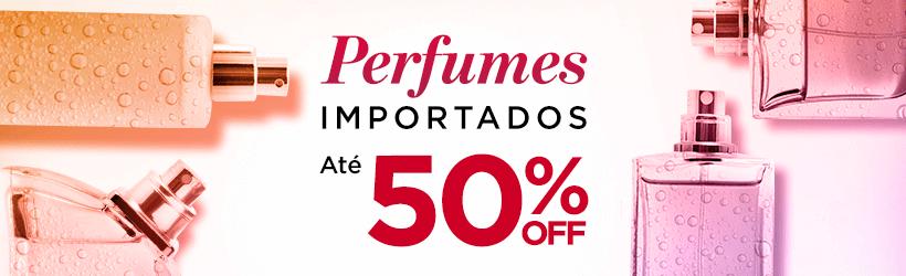 Perfumes Importados até 50%OFF