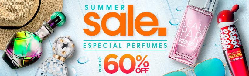 Summer Sale com até 60% OFF