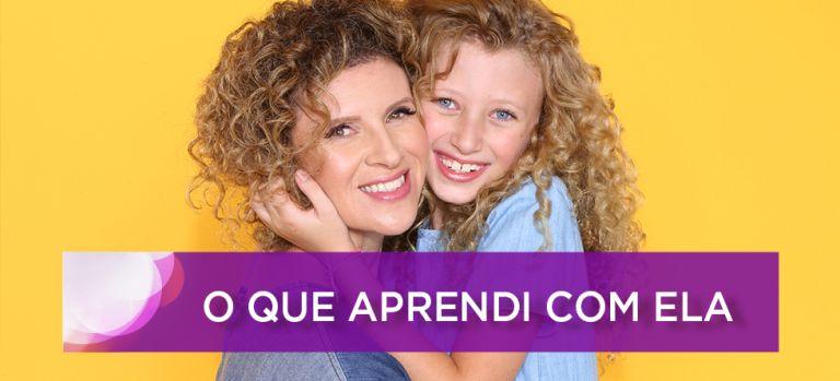 Dia das Mães: #oqueaprendicomela