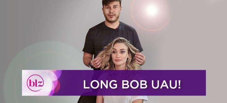 Penteado para long bob