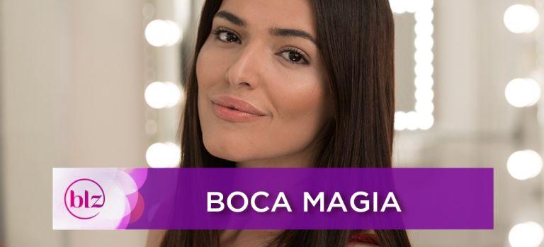 Boca Magia com Maquiagem Givenchy