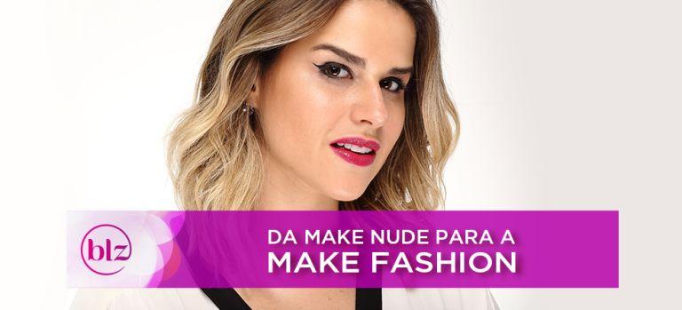 Da make nude para a make fashion