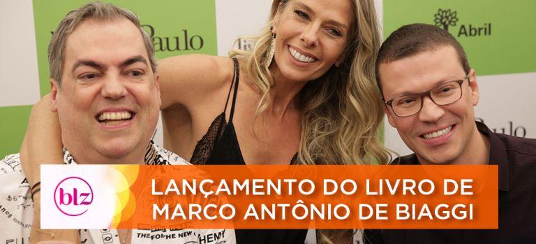 """Marco Antônio de Biaggi lança """"A Beleza da Vida"""" em São Paulo"""