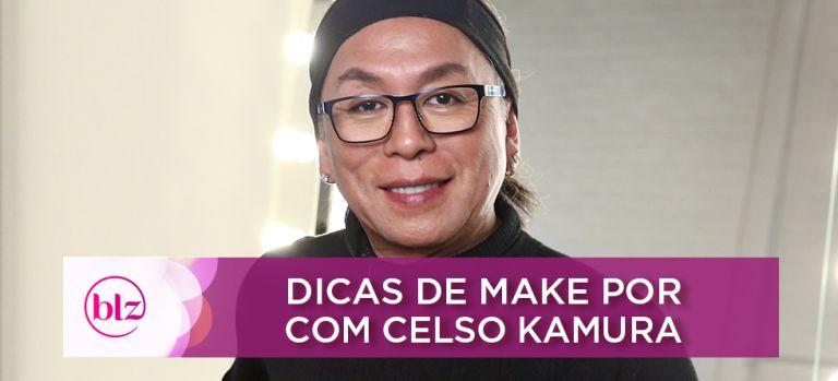 Dicas de maquiagem por Celso Kamura