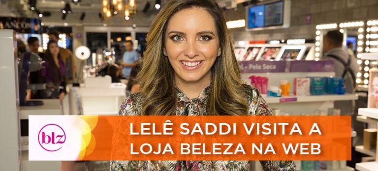 Lelê Saddi e Givenchy Promovem Beauty Day na loja Beleza na Web