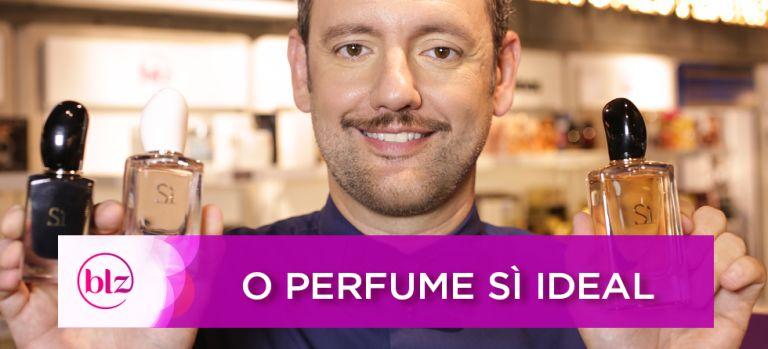 O perfume SÌ, de Giorgio Armani, ideal para você