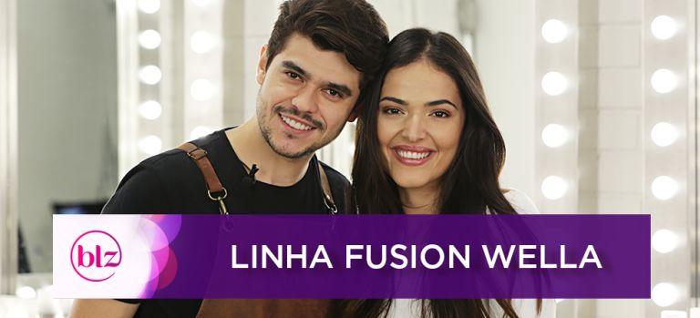Tratamento para cabelo danificado com Fusion by Wella